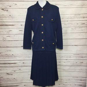 Vintage Castleberry London NY Skirt Suit